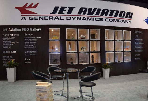 Jet Aviation at NBAA 2016