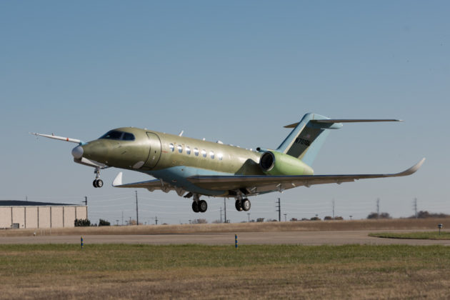 2nd Cessna Citation Longitude takes flight