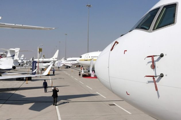 50 business aircraft at MEBAA 2016 show