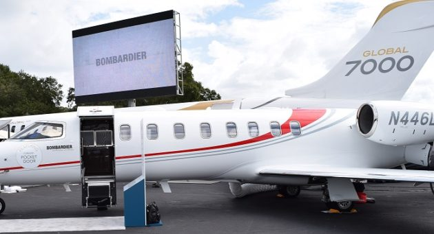Bombardier will display at MEBAA 16