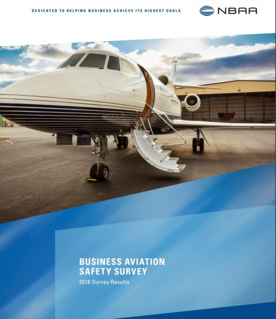 Business Aviation Safety Survey 2016