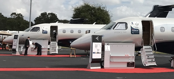 Embraer Legacy 450 and 500