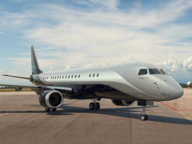 Embraer Lineage 1000e Skyranch One Interior costs 70 million to 75 million