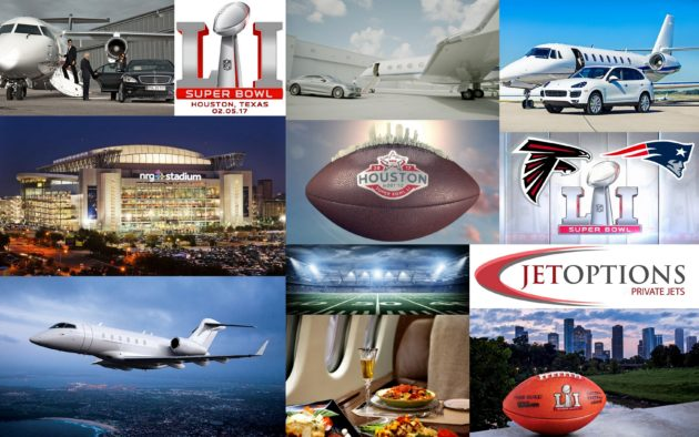 Charter Private Jet to Super Bowl