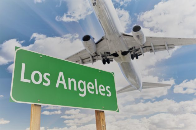 Private Jet Charter Los Angeles with JetOptions