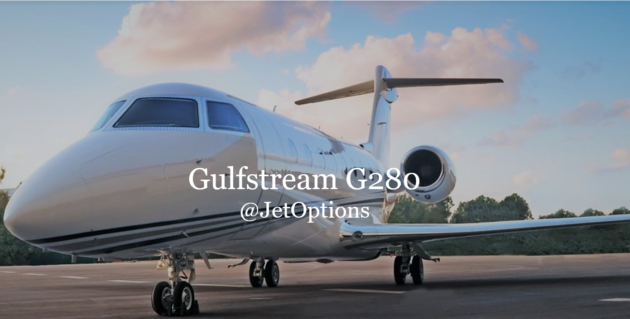 Gulfstream G280 at JetOptions