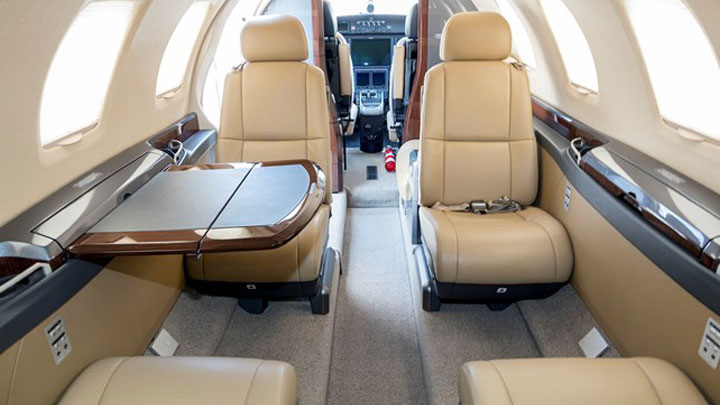 Citation M2 Jet Interior