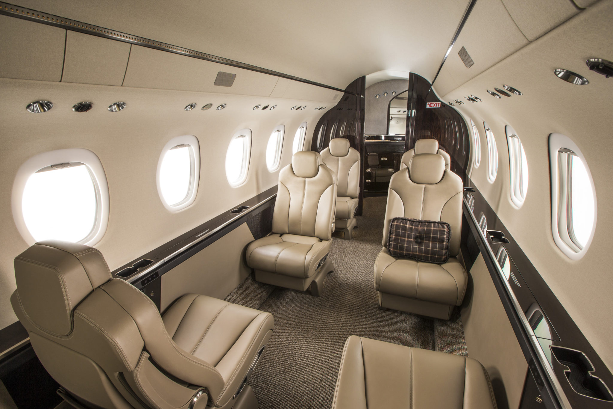 Citation Latitude Jet Interior