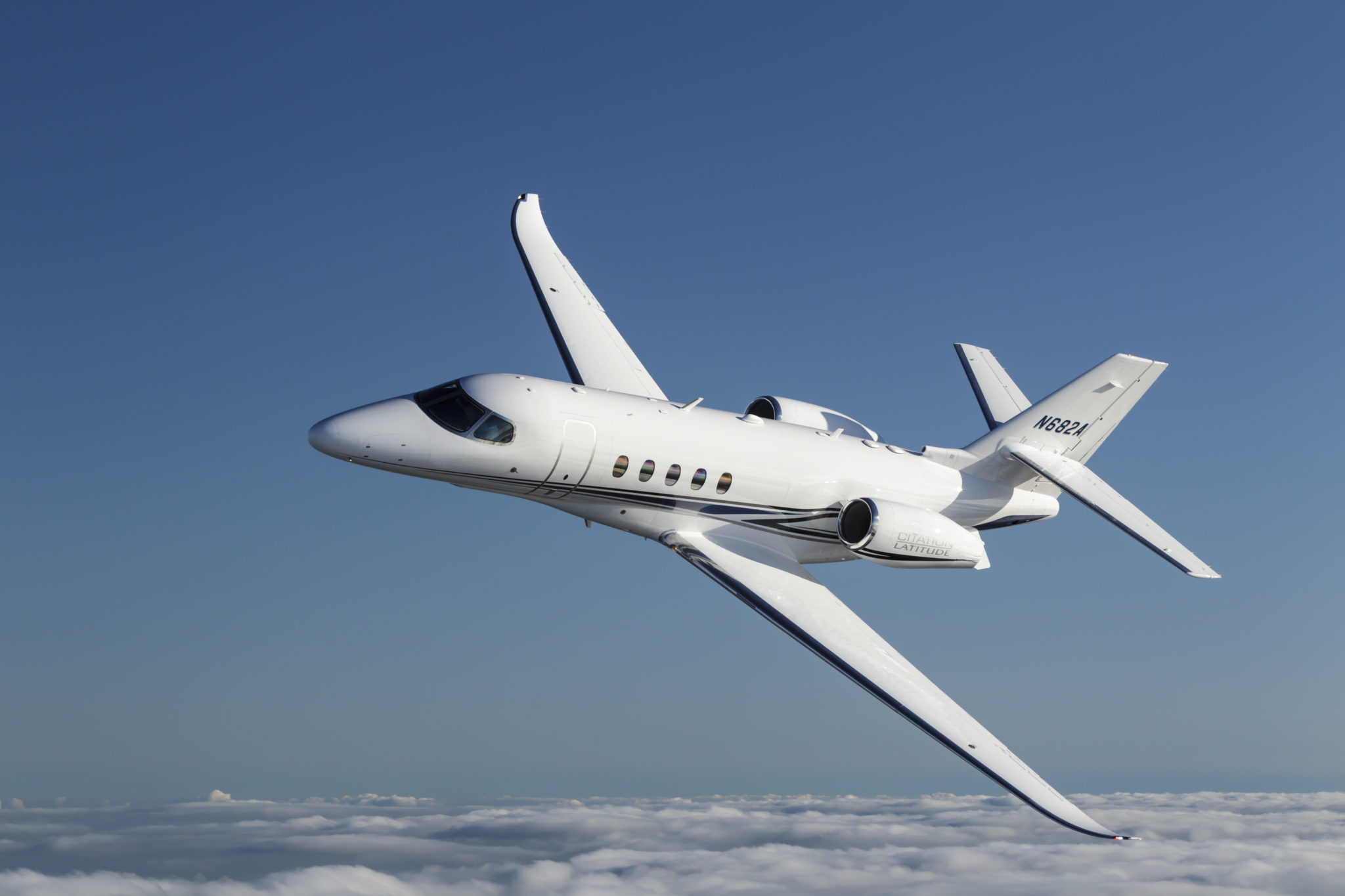 Citation Latitude Jet Exterior