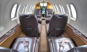 Charter Cessna Citation CJ2+ interior pjm