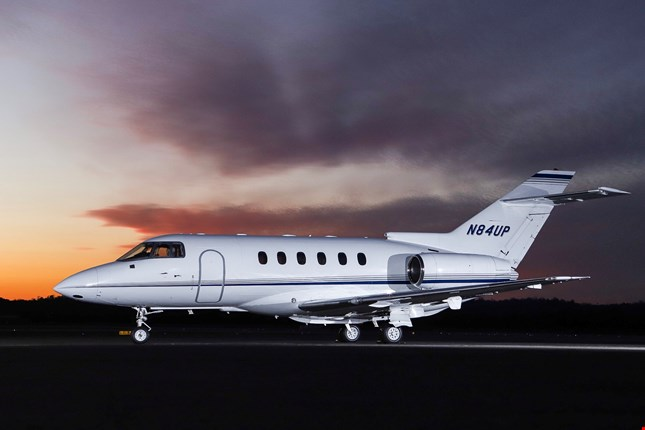 Charter a Hawker 800XP Jet from JetOptions