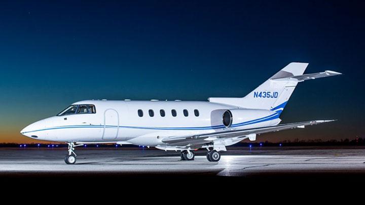 Hawker 800XP Jet Exterior