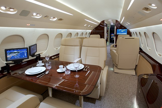 Charter a Falcon 8X Jet from JetOptions