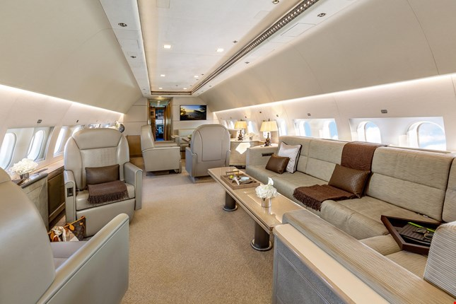 Charter a Airbus ACJ319 Jet from JetOptions