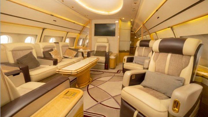 Airbus ACJ319 Jet Interior