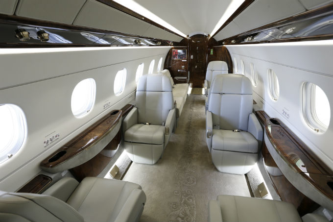 Charter a Legacy 500 Jet from JetOptions