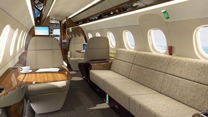 Legacy 500 Jet Interior