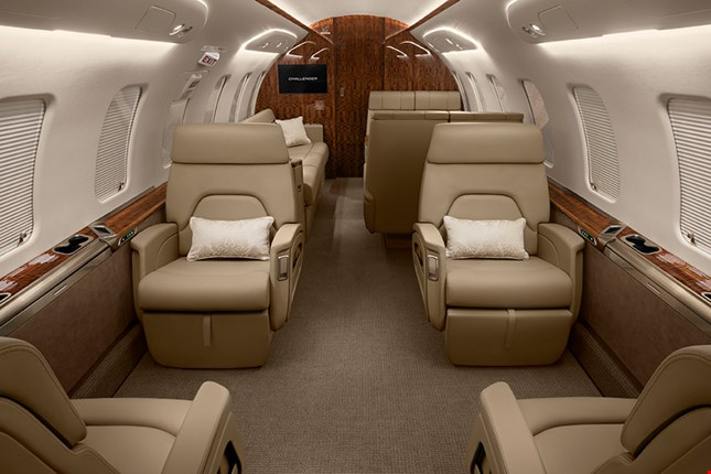 Charter a Challenger 650 Jet from JetOptions