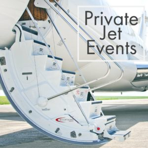 Private Jet Events - Private Flights at JetOptions