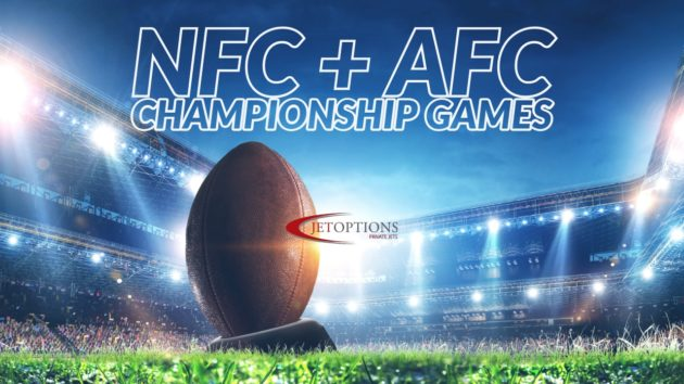 Charter Private Jets for the AFC& NFC Championship Games