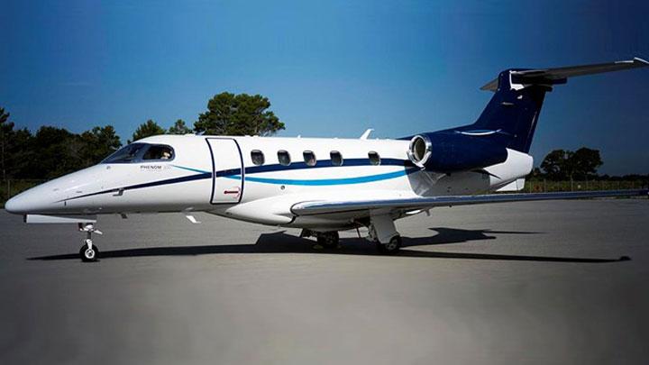 Phenom 300 Jet Exterior