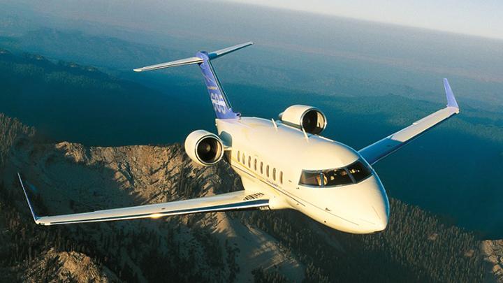 Challenger 601 Jet Exterior