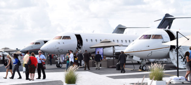 NBAA Convention in Las Vegas