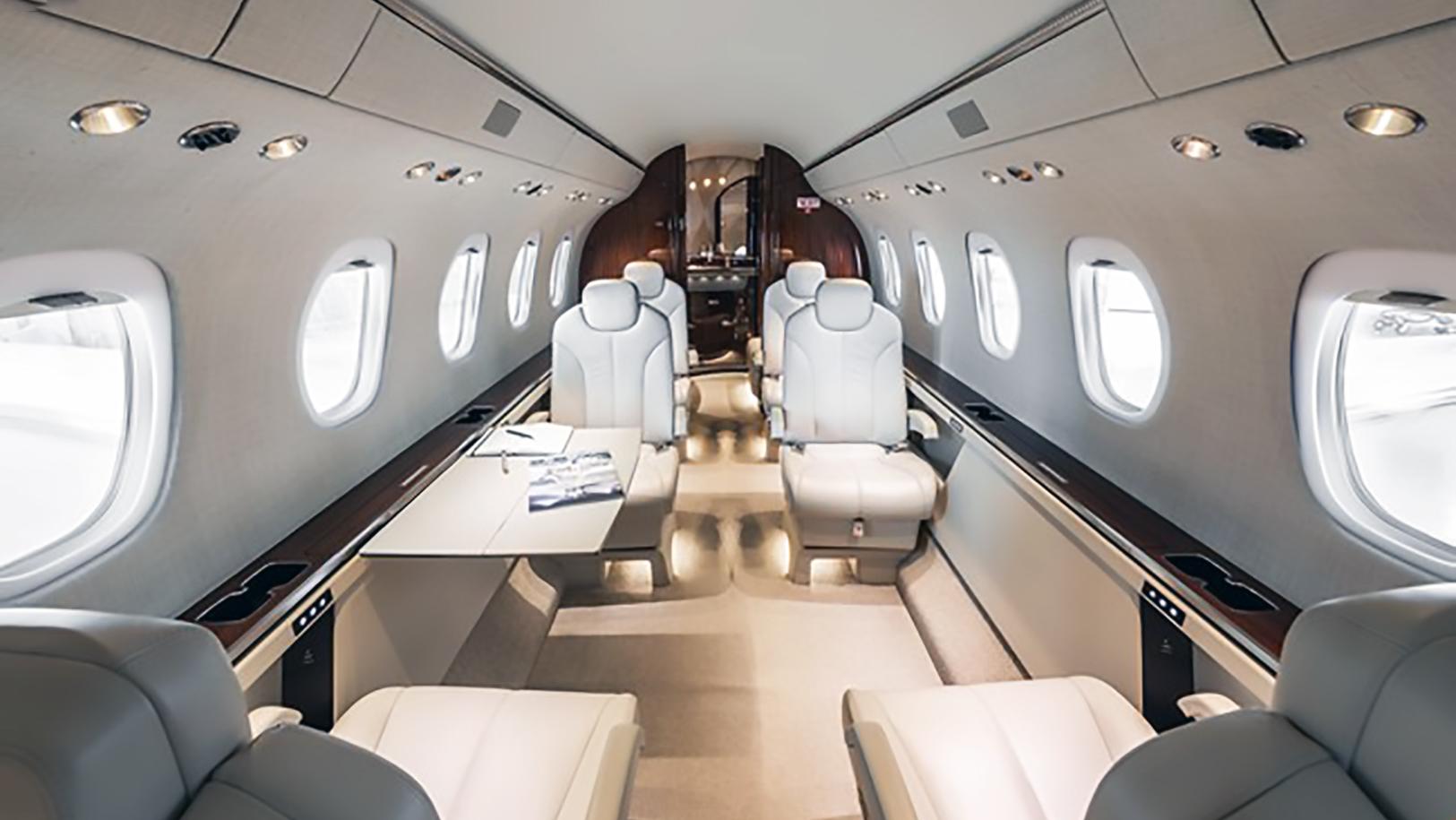Citation Latitude Jet Interior