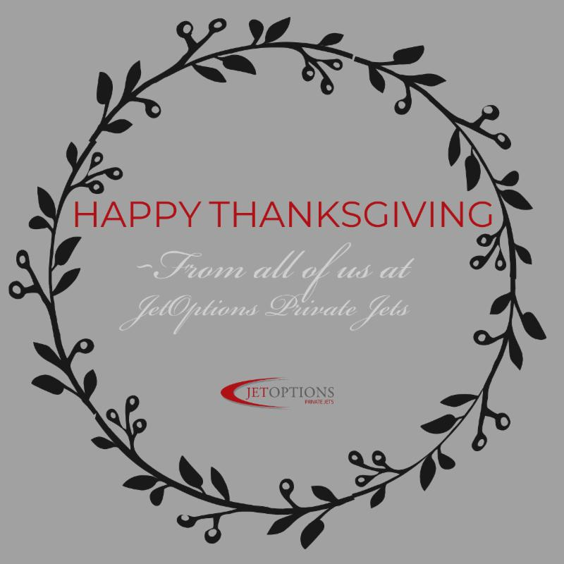Happy Thanksgiving from the JetOptions team