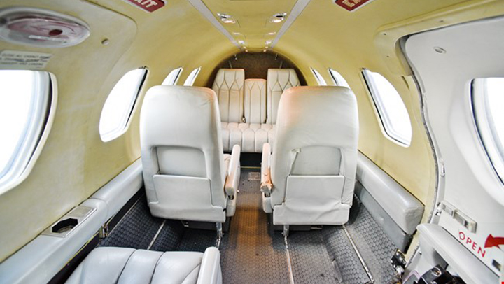 Citation I Jet Interior