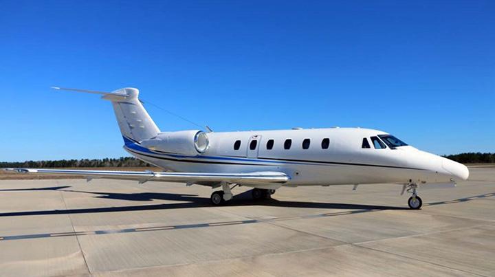 Citation VII Jet Exterior