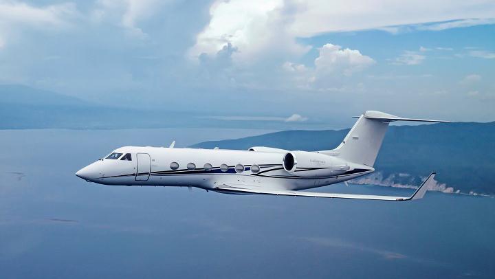Gulfstream G400 Jet Exterior