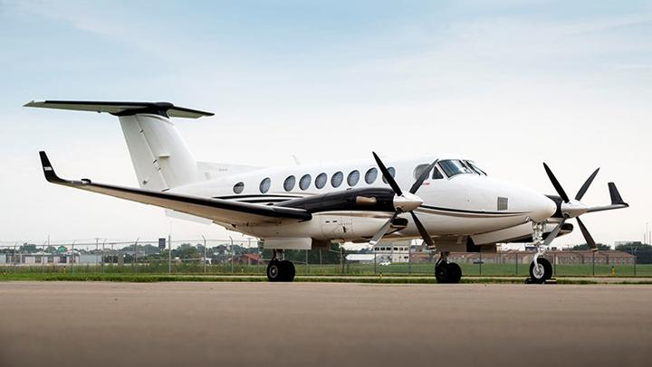King Air 350 Jet Exterior