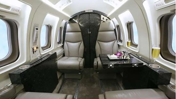 Westwind II Jet Interior