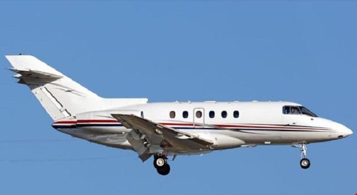 Hawker 750 Jet Exterior