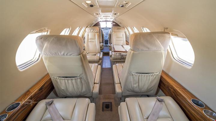 Citation SII Jet Interior