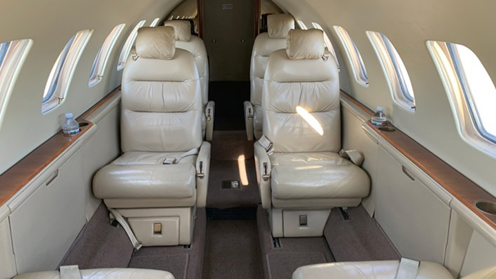 Citation V Ultra Jet Interior