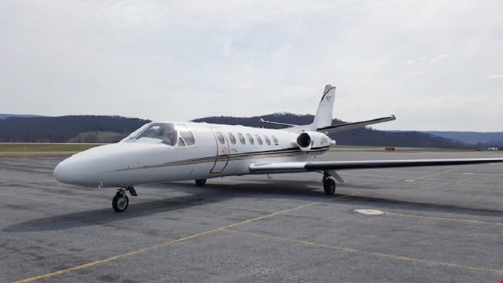 Citation V Ultra Jet Exterior