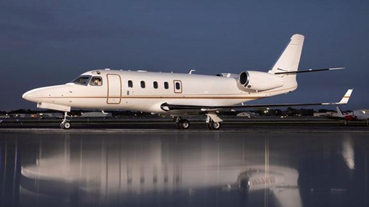 Gulfstream G100 Jet Exterior