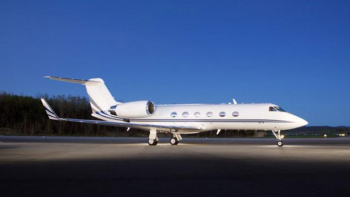 Gulfstream IV Jet Exterior