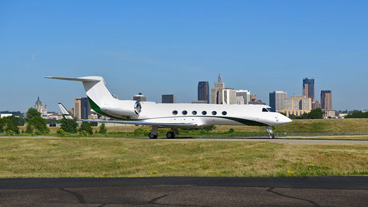 Gulfstream V Jet Exterior