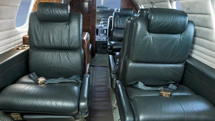 Learjet 35 Jet Interior