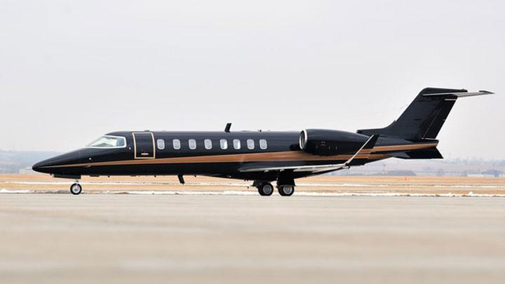 Learjet 45 Jet Exterior