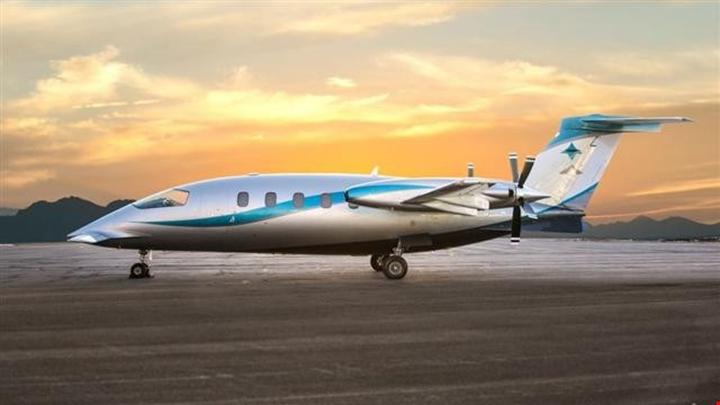 Piaggio Avanti P180 Jet Exterior