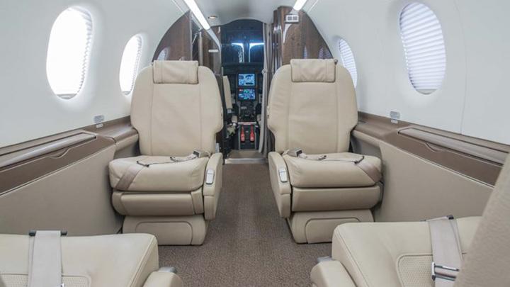 Pilatus PC-12 Jet Interior