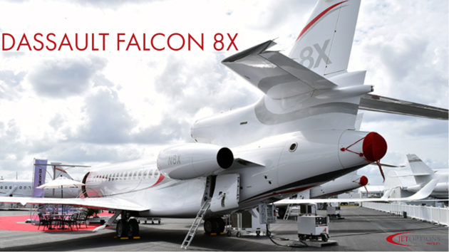 Faclon 8X Luxury Heavy Jet Charter JetOptions