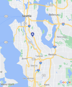BFI King County Airport Map Google