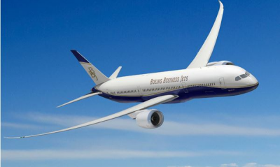 Boeing Business Jets delivers first two BBJ 787-8 aircraft of 2014