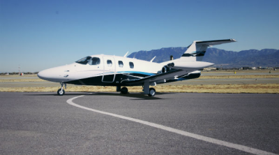 Eclipse 550 certified for auto throttle and anti-skid brake