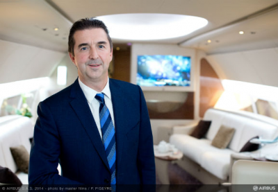 Airbus Corporate Jets names Benoit Defforge as managing director
